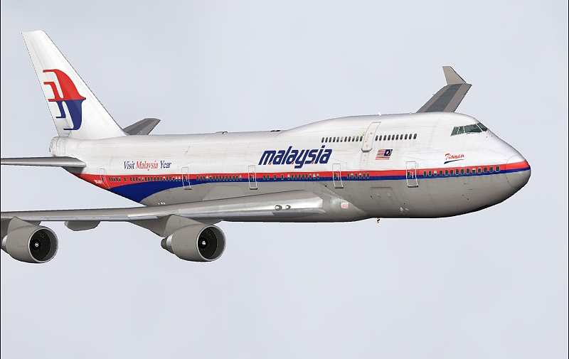9c6a9181df5c Malaysia Airlines Project Opensky 747-400 V4. Model Features include fully  animated control surfaces