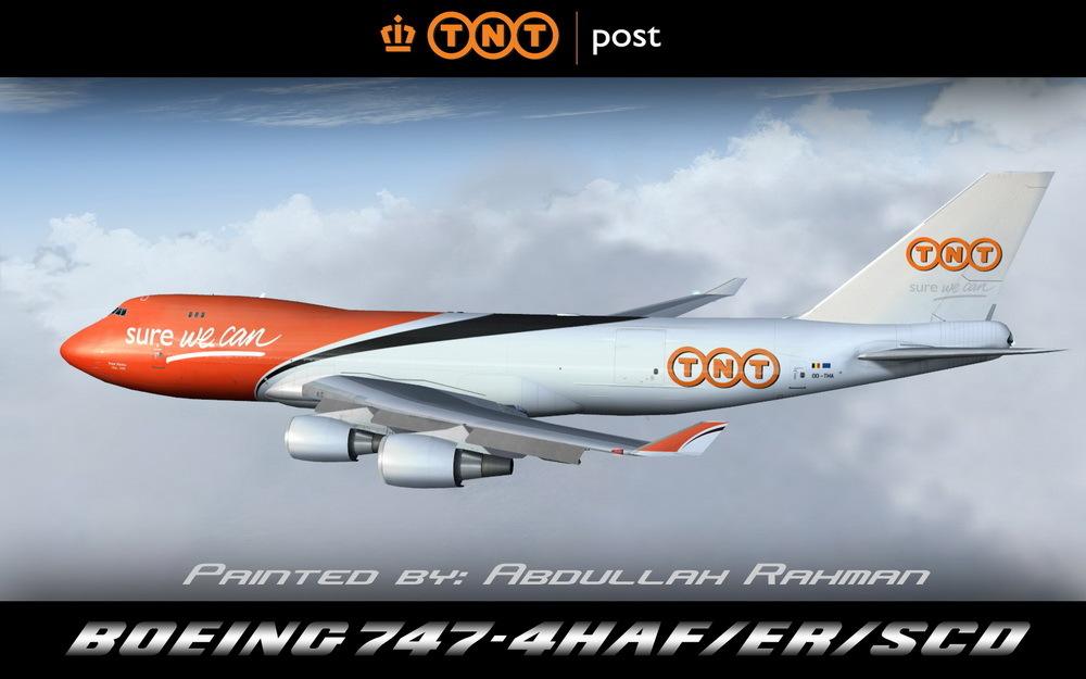 Boeing B747-400ERF by TNT-va