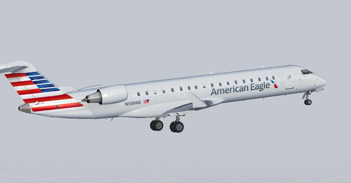 American Eagle S Fsx Aircraft - boolinternational