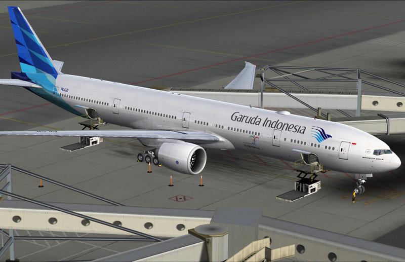 Garuda Indonesia Boeing 777-300ER | Avsim Library
