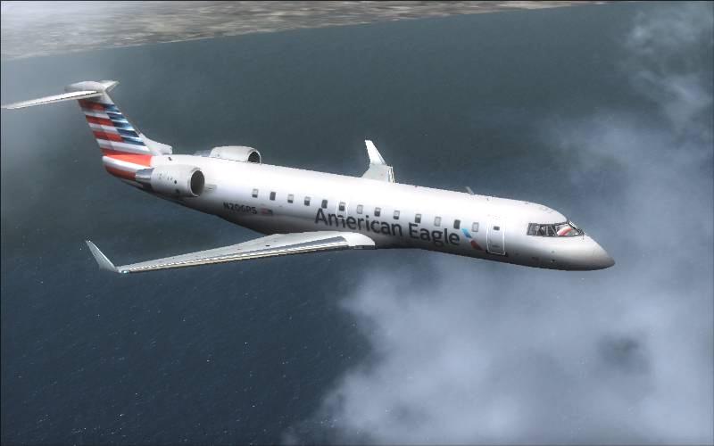 American Eagle S Fsx Plane - apcrise