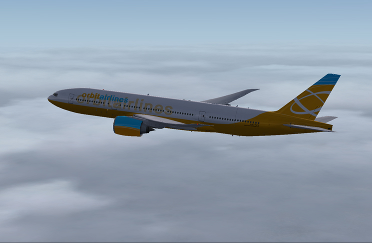 Orbit Airlines Boeing 777-200 LR (Revised)
