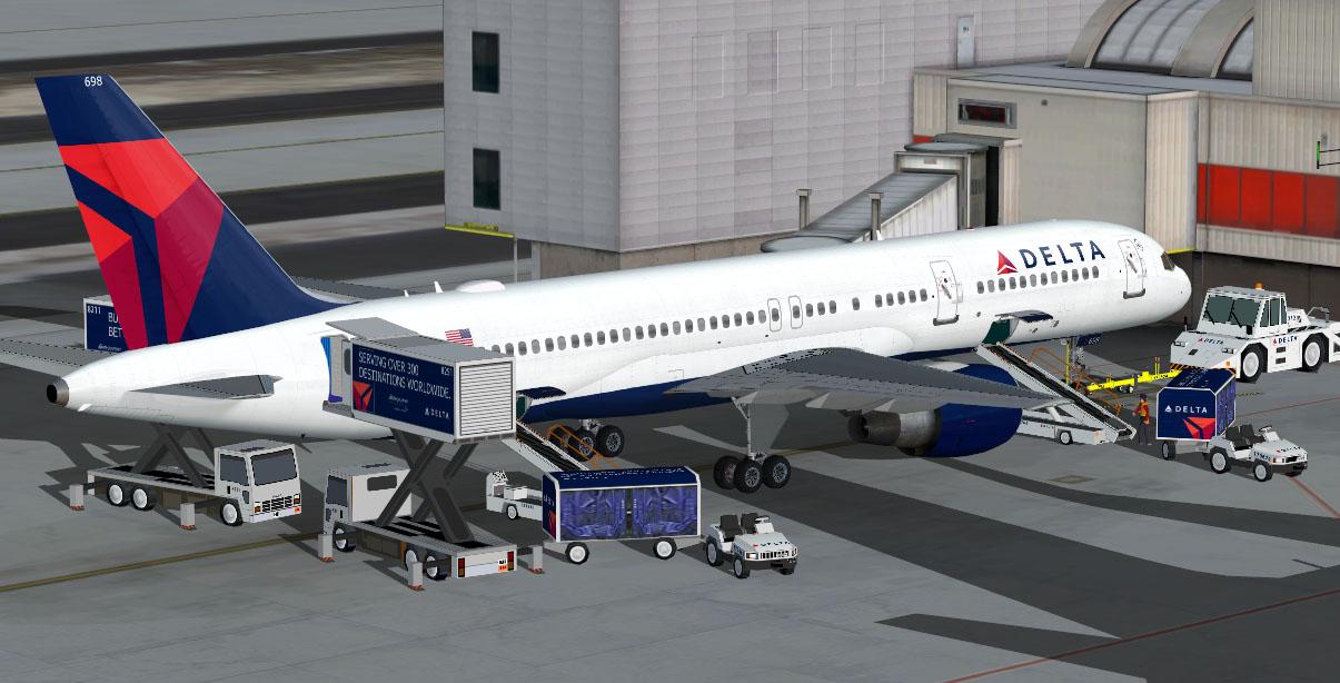 Delta livery